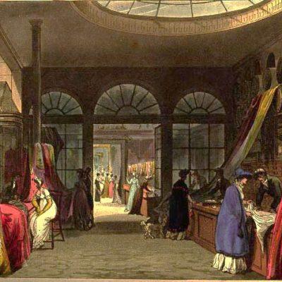 19th Century Drapery Shop